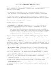retainer consulting agreement retainer agreement consulting resume examples resume