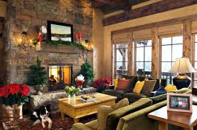 Living Room Christmas Decorating Best Collection For Christmas Living Room Decor Colorful Garland