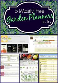Small Picture 5 Mostly Free Online Vegetable Garden Planners