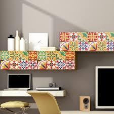 italian tiles stickers pack of 18 tiles tile decals art for walls kitchen backsplash bathroom