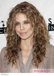 Hairstyles For Curly Hair 29 Inspiration AnnaLynne McCord Beachy Curls Hairstyle Curls Rulos Cachos
