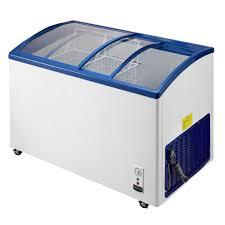 curved glass sliding door ice cream display deep freezers small rcial freezer refrigera chest fridge white