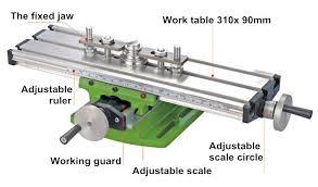 diy mini multi function milling machine miller precisi cross table tooling