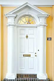 white double front door. White Double Front Doors With Glass Door Premium Half Lite Primed