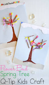 Q-Tip Spring Tree Kids Craft_A Little Pinch of Perfect 7 copy