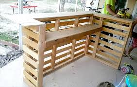 diy pallet bar. How To Design A Pallet Bar Diy I