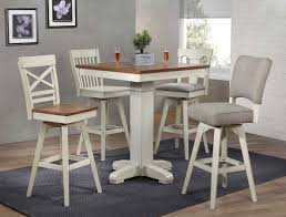 Antique White Pub Table Set By Eci Furniture Furniturepick