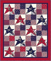 Free pattern day: Patriotic and flag quilts | 4th | Pinterest ... & Free pattern day: Patriotic and flag quilts Adamdwight.com