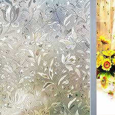 <b>3D Window Films Privacy</b> Film Decorative Flower Film Sticker for ...