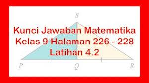 Tema 6 kelas 5 sd subtema 3 pembelajaran 3. Matematika Halaman 226