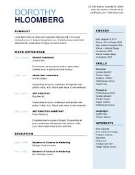 multipurpose resume template publisher resume templates
