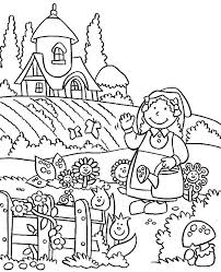 Small Picture Welcome to My Lovely Garden Coloring Pages Color Luna
