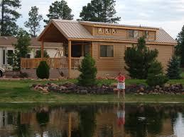 cabin loft rv s cavco park models pre stained concrete lap siding