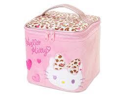 o kitty vanity case leopard print makeup box sanrio an