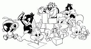 Small Picture Baby Looney Tunes Coloring Pages Colorinenet 20941
