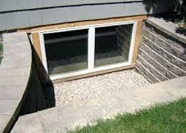 basement window installation cost how much does an egress window cost installation glass block basement window