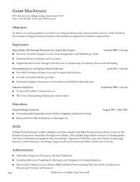 Resume Special Skills Cool Resume Objective Examples For Restaurant Server Template New Skills