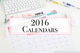 printable calanders 2016 printable calendars blooming homestead