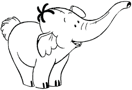 coloring pages baby elephant coloring pages 7 best images on elephants cute page free printable