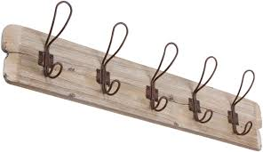 Vintage Wall Mounted Coat Rack Trademark Innovations Vintage Style Wall Mounted Coat Rack Reviews 12