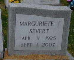 Marguriete Ida Simpson Severt (1925-2007) - Find A Grave Memorial