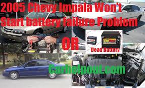 Mobile Mechanic tips for 2005 Chevy Impala Will Not Starter ...
