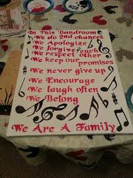 my canvas that i did for my band director as a goodbye gift my one true love 3 band band director and band nerd