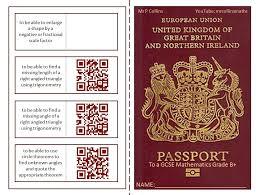 Free Passport Template For Kids British Passport Template] Passport Template By Torstout Teaching 49