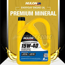 image is loading nulon mineral 15w 40 everyday engine oil 5l