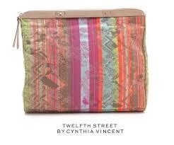 Twelfth Street By Cynthia Vincent Size Chart Twelfth St By Cynthia Vincent Embroidered Folder Over Edan Neon Jacquard Clutch 67 Off Retail