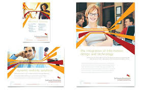 Engineering Brochure Templates Mechanical Software Developer Flyer ...