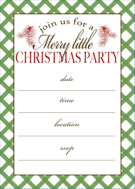 Christmas Wording Samples Party Invitations Various Kinds Of Free Christmas Party Invitation