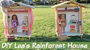 diy lea s rainforest house