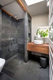 20 Amazing Bathrooms With Wood Like Tile Modern shower Woods and