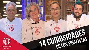 MasterChef Chile 2 | 14 curiosidades de los finalistas - YouTube