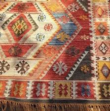 pottery barn cyndy kilim recycled yarn indoor outdoor rug
