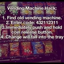 Vending Machine Hack 2017 Classy Musely