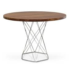 furniture 30 inch round dining table modern endearing coffee wood top aroma silver on with