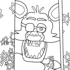 Lovely Fnaf Sister Location Coloring Pages Bonnie Tumblr Charlie