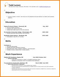 Cute Resume Marketing Objective Images Entry Level Resume