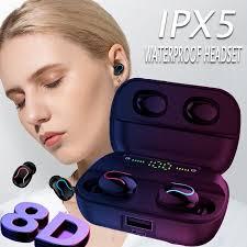 Truely Wireless Headset <b>Bluetooth 5.0 Headset Mini</b> Bluetooth ...