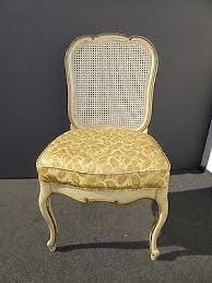7 of 12 six vine thomasville french country provincial off white cane dining chairs