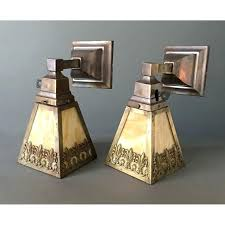 deco wall sconce mission style indoor sconces stained glass craftsman outdoor lighting art