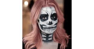 skeleton makeup tutorial popsugar beauty