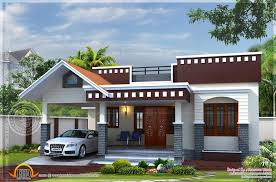 home plan small house kerala design floor plans home building