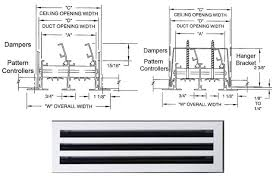 air conditioning grilles and diffusers. linear slot diffuser air conditioning grilles and diffusers