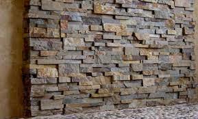stacked stone veneer panels for shower