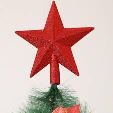 Amazonde Pretyzoom Glitzer Weihnachtsbaumspitze