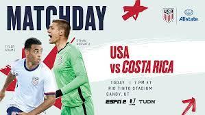 USA vs. Costa Rica - Preview ...