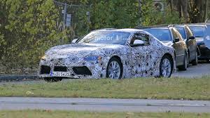 Toyota Supra sheds some camo to reveal more details